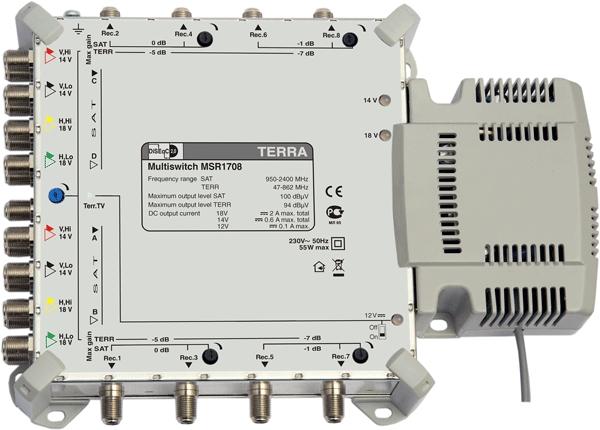 Мультисвитч Terra MSR1708