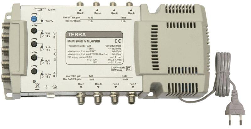 Мультисвитч Terra MSR908