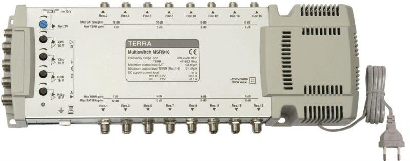 Мультисвитч Terra MSR916