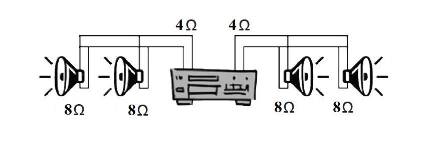 Схема подключения APart CMS608