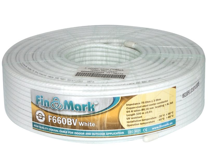 FinMark 660BV white 100 м