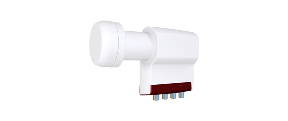 QUAD LNB Inverto Red Extend IDLR-QUDL40-EXTND-OPP