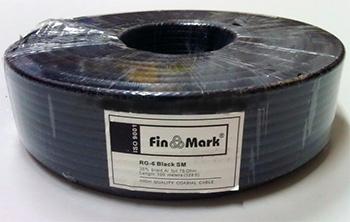 FinMark RG-6 Black SM 100 м