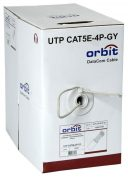 ORBIT UTP CAT5E-4P-GY 305 м