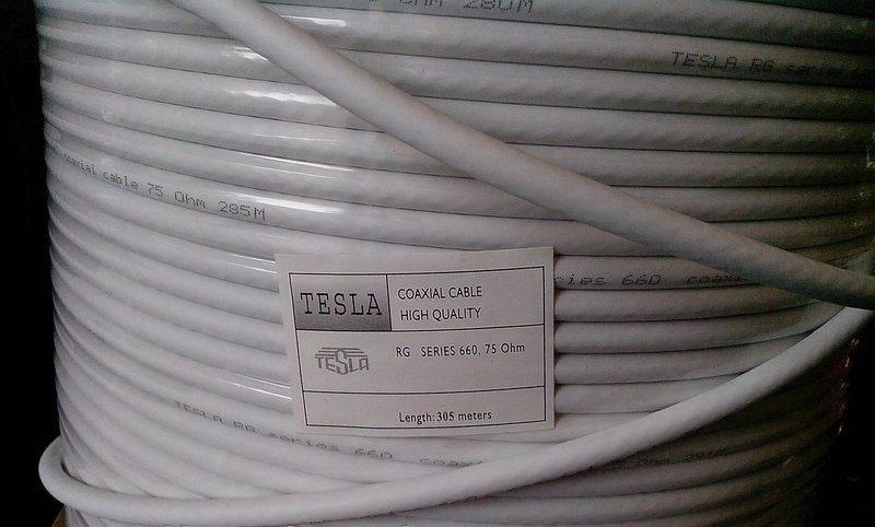 TESLA 660 white 305 м