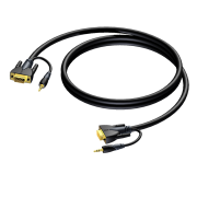 VGA+audio-VGA+audio 3 м Procab CLV115/3