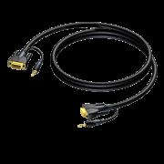 VGA+audio-VGA+audio 25 м Procab CLV115/25