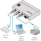 Коммутатор HDMI 2x1 (3D, 4K) Kramer VS-211H2