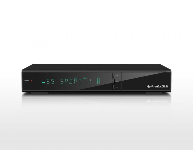 Спутниковый ресивер CryptoBox 750HD