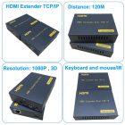 HDMI удлинитель KVM по витой паре PW-DT103KM-IR
