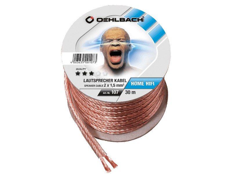 Oehlbach Speaker Wire SP-15/3000