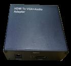 Конвертер HDMI (папа) - VGA (мама) + Audio Adapter