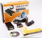 Конвертер USB на VGA-DVI-HDMI Адаптер (Внешняя USB Видеокарта)