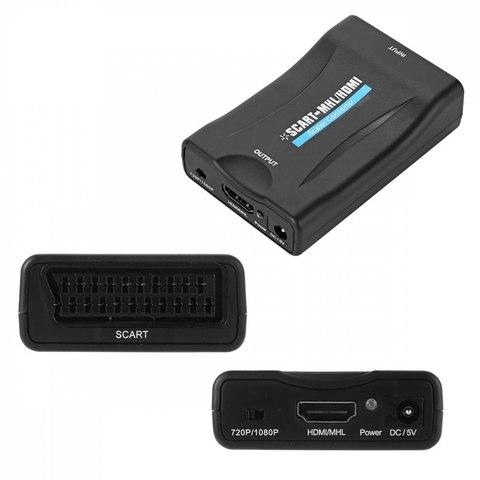 Конвертер видео сигнала из SCART в HDMI