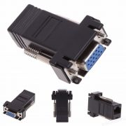 Пассивный удлинитель (B) VGA, RJ-45 to VGA (female)