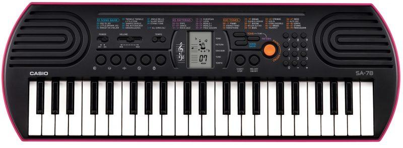 Синтезатор для начинающих Casio SA-78