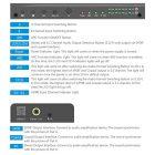 HDMI переключатель коммутатор Switcher сплиттер Matrix 4X2, 4K 2K 3D