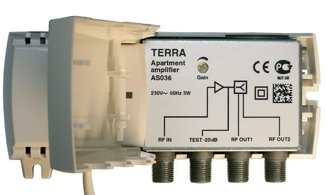 ТВ усилитель Terra AS036