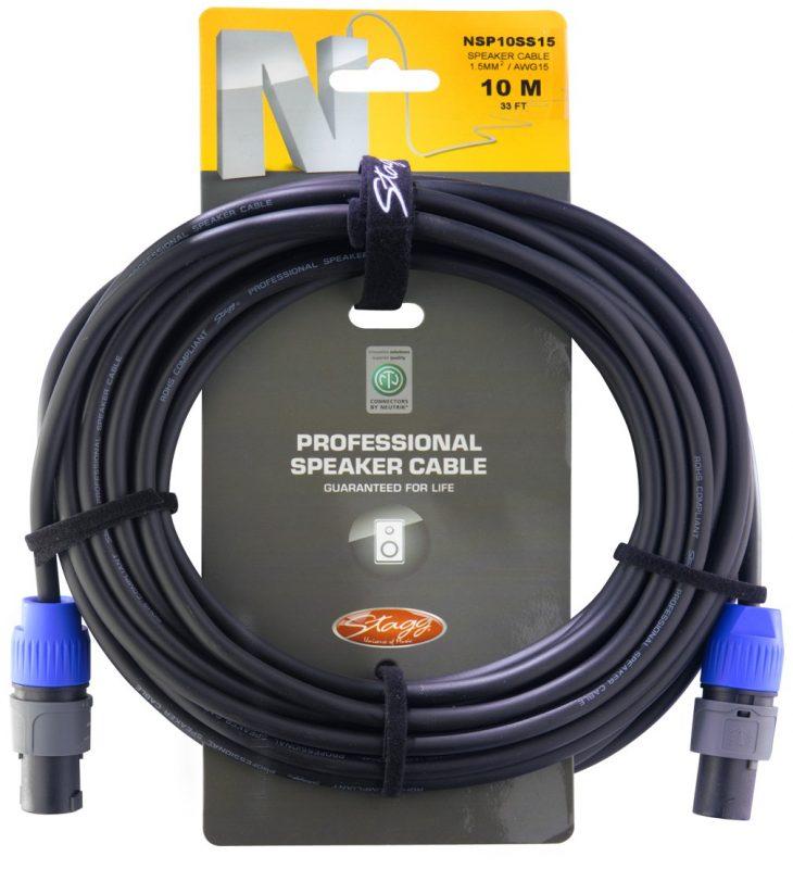 Акустический кабель Stagg NSP10SS15