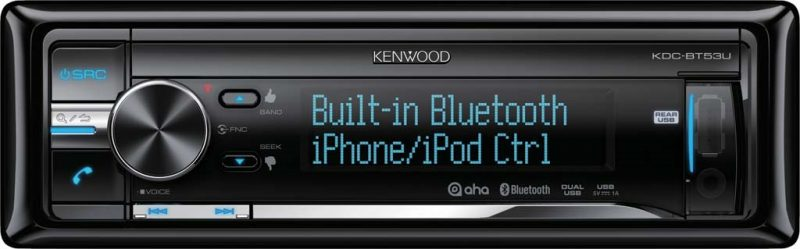 Автомагнитола Kenwood KDC-BT53U - CD ресивер 1DIN
