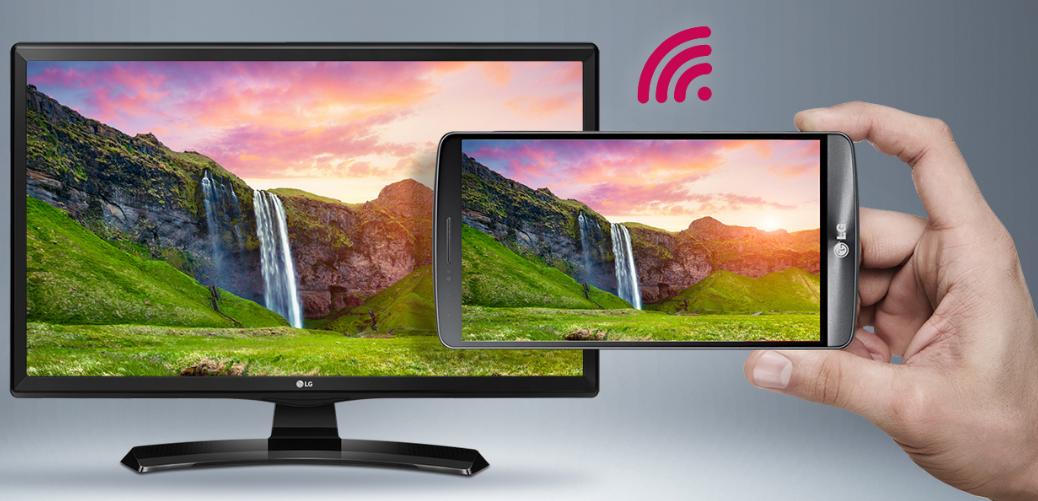 LG 24MT49S-PZ Встроенный Wi-Fi