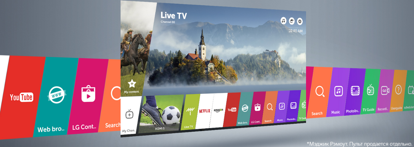 LG 24MT49S-PZ webOS 3.5 Smart TV