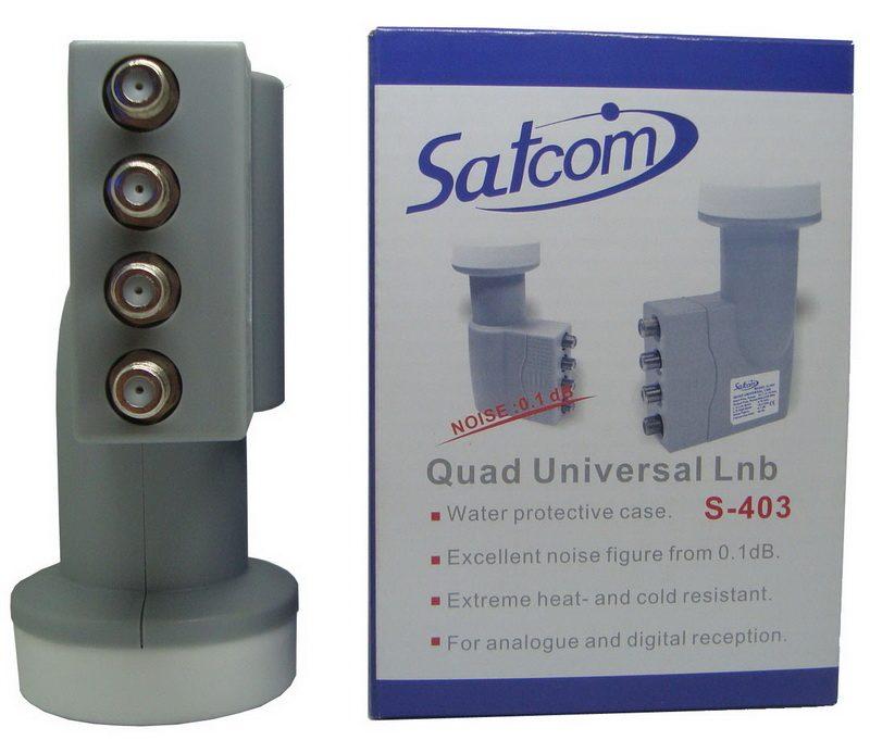 QUAD Satcom S-403