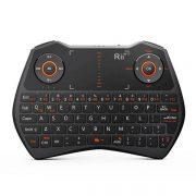 Беспроводная мини клавиатура с тачпадом Rii i28с