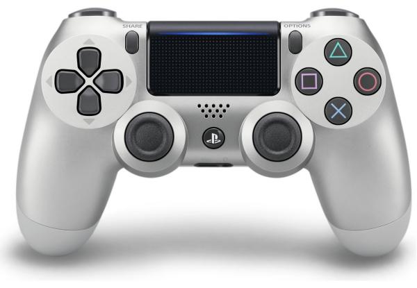 Геймпад беспроводной Джойстик PlayStation Dualshock v2 Cont Silver