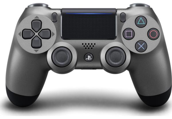 Геймпад беспроводной Джойстик PlayStation Dualshock v2 Steel Black