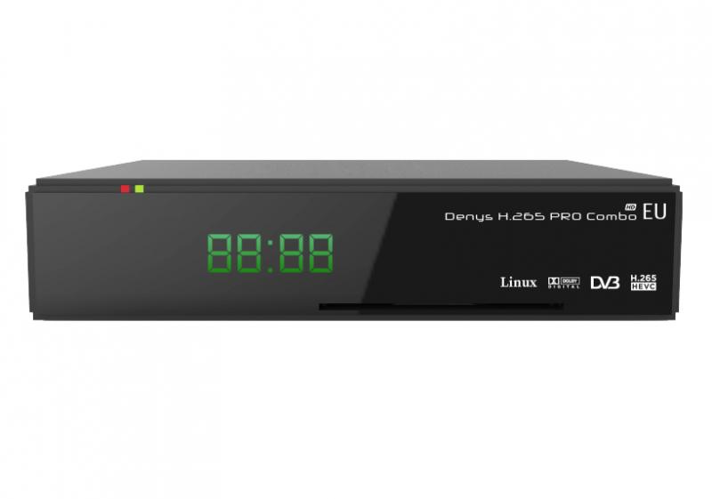 Комбинированный ресивер uClan Denys H.265 Pro Combo EU