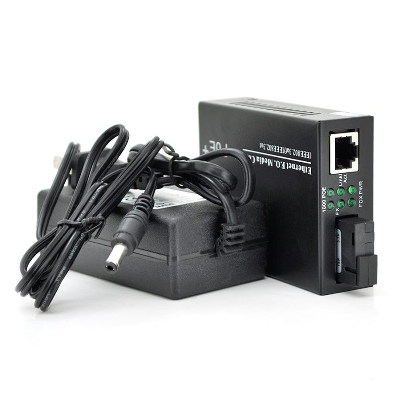 Медиаконвертер POE FT-1G1EPS-20