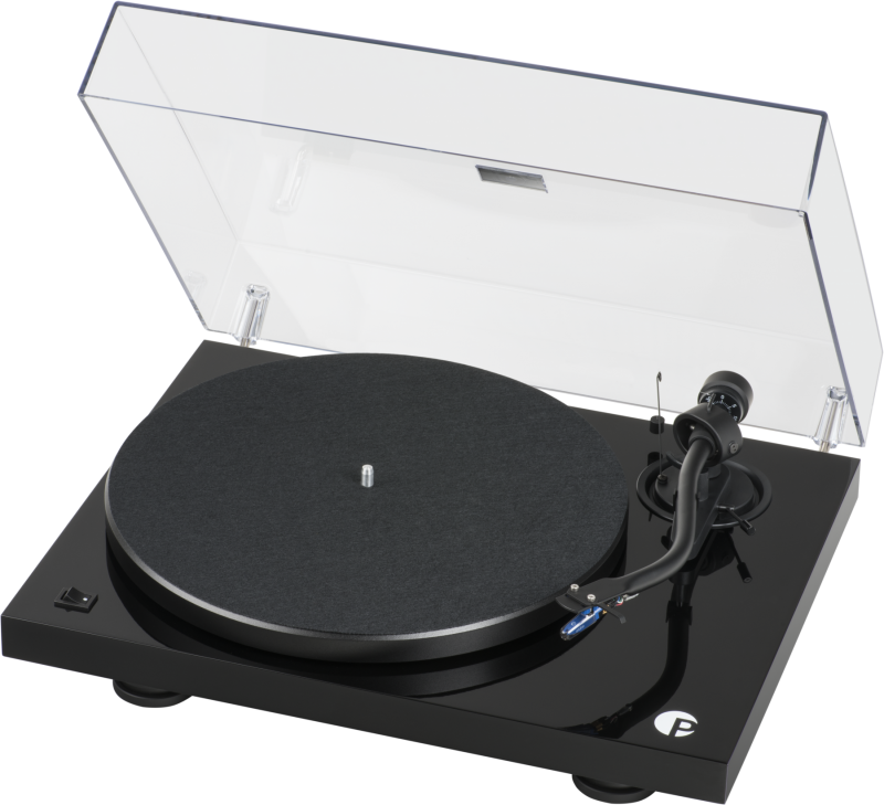 Pro-Ject DEBUT III S Audiophile Black Pick it 25A 1