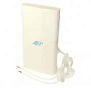Антенна комнатная 4G LTE MIMO 2×9 dbi