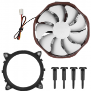 PC Cooler Shark-III E121 - CPU Cooler with 120mm Ultra Silent Cooling Fan - For Intel LGA 1156/1155/1151/1150/775, AMD FM2+/FM2/FM1/AM3+/AM3/AM2+/AM2/940/939/754