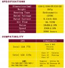 Кулер процессорный Pccooler Firebird SPA-801 для Intel LGA 115X/775, AMD AM2, 3-pin, RPM 2500±10%