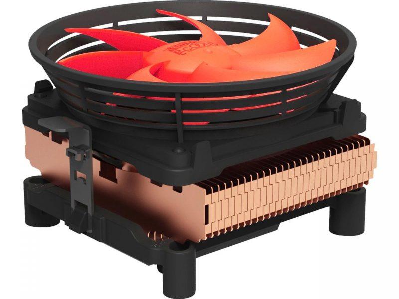 Кулер процессорный Pccooler Q100M для Intel LGA 115X/775, AMD 754/939/AM2/AM3+ 3-pin, RPM 2000±10%