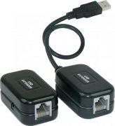 Активный удлинитель USB по витой паре RJ45 Viewcon VE399