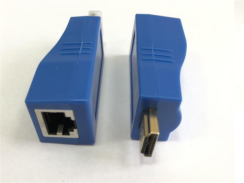Пассивный удлинитель HDMI сигнала по витой паре Atcom HDMI-Ethernet до 30м