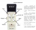 Гитарная педаль эффектов JOYO Clean Glass JF-307