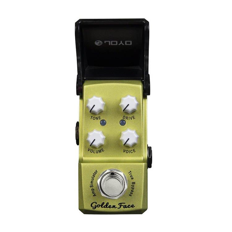 Гитарная педаль эффектов JOYO JF-308 Golden Face (Overdrive)