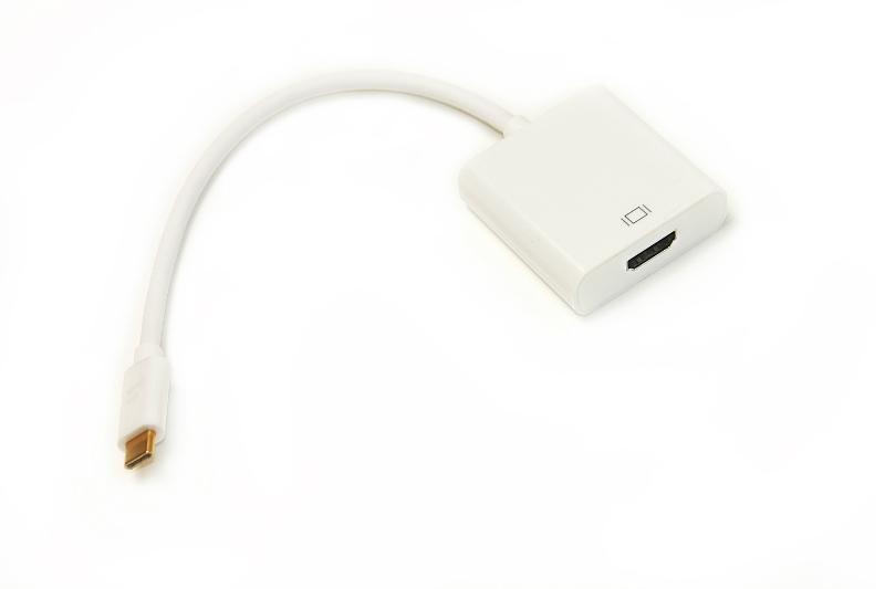 Кабель-переходник PowerPlant USB Type-C-HDMI 0.15м