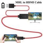 Конвертер MHL 11P на HDMI(папа) 1.8м 2