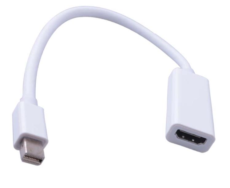 mini Display Port (папа) на HDMI (мама) 10cm