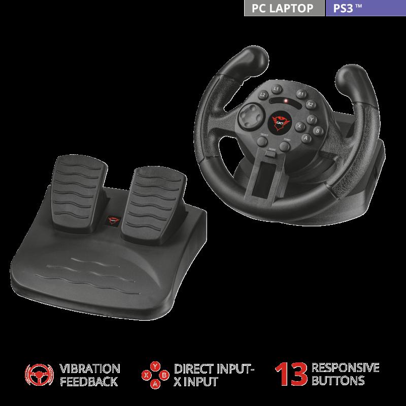 Игровой руль Trust GXT 570 Kengo
