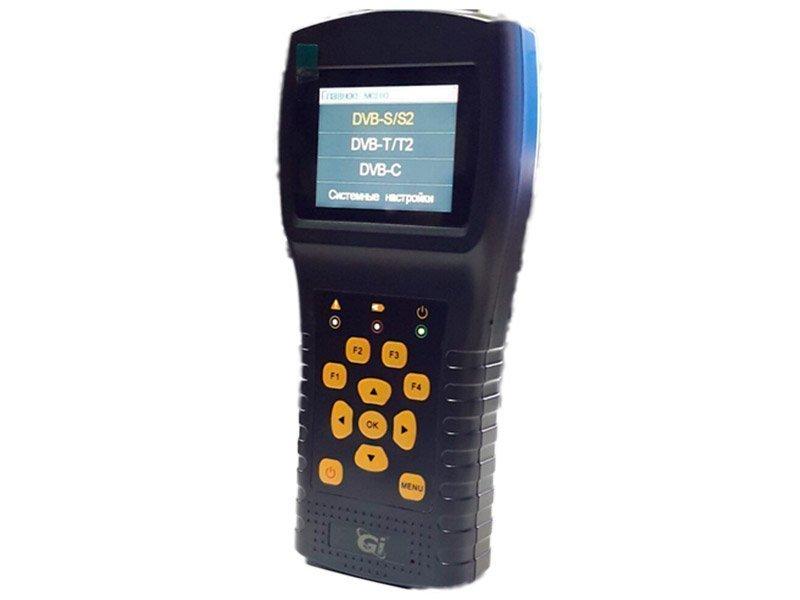 Комбинированный прибор для настройки сигнала DVB-S/S2/T/T2/C GI ComboF