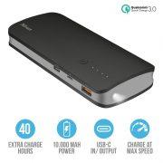 Trust Omni Ultra Fast Powerbank 10.000 mAh USB-C BLACK 7