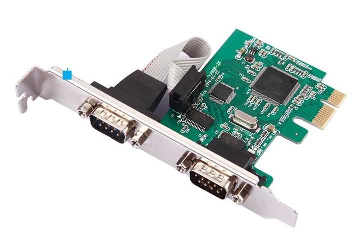 Контроллер PCI-Е - RS232(9Pin)+RS232(9Pin)