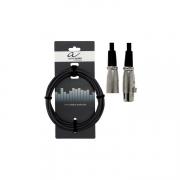 Микрофонный кабель XLR (m) - XLR (f) 9м Alpha Audio Basic 190050