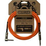 Инструментальный кабель Jack 6,3- угловой Jack 6,3 3м Orange CA035